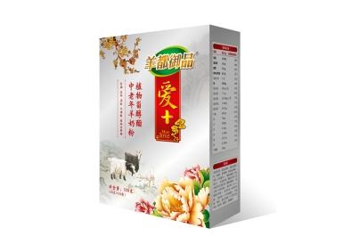 羊都御品爱+中老年羊奶粉中国风版